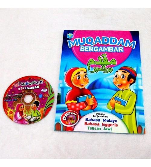 Tarik anak mengaji dengan Muqaddam Bergambar Dalam 3 Bahasa images